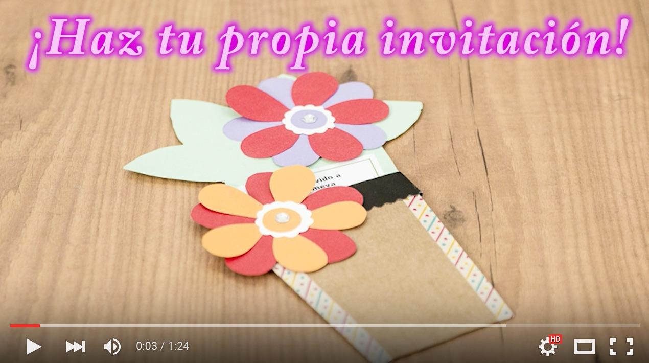 C mo hacer invitaciones cumplea os hechas a mano - Como hacer tarjetas para comunion ...