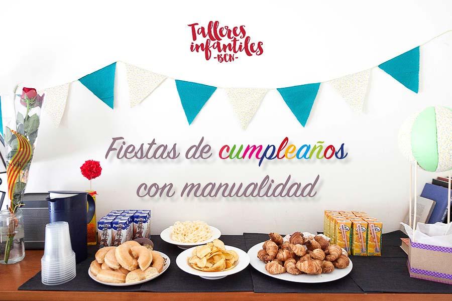 Fiestas de cumpleaños para niños en Barcelona