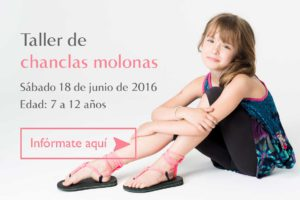 Taller Infantil Chanclas Molonas