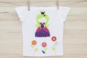 Taller de cumpleaños de camiseta de Princesa
