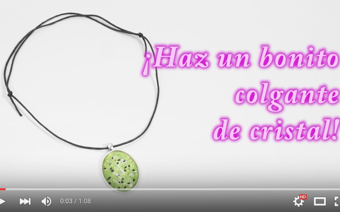 VIDEO MANUALIDAD BISUTERÍA DE CRISTAL CON ESMALTES DE UÑAS