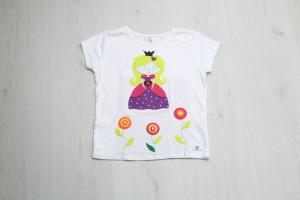 Video de manualidades infantiles: Camiseta princesa