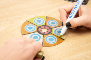 MANDALAS DECORATIVOS CON CDs