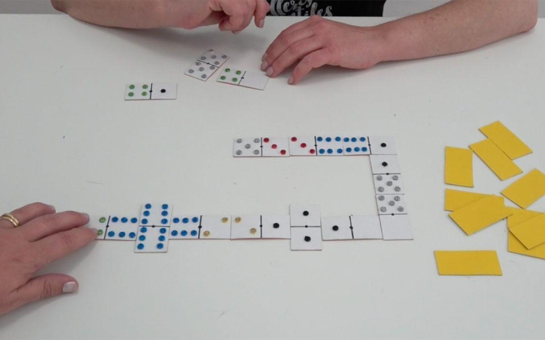Como Hacer Un Domino Casero Para Ninos Juegos Infantiles