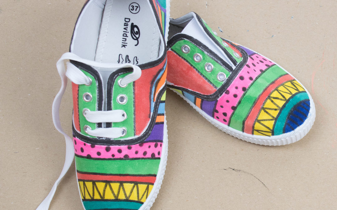 DECORAR UNAS ZAPATILLAS DIY