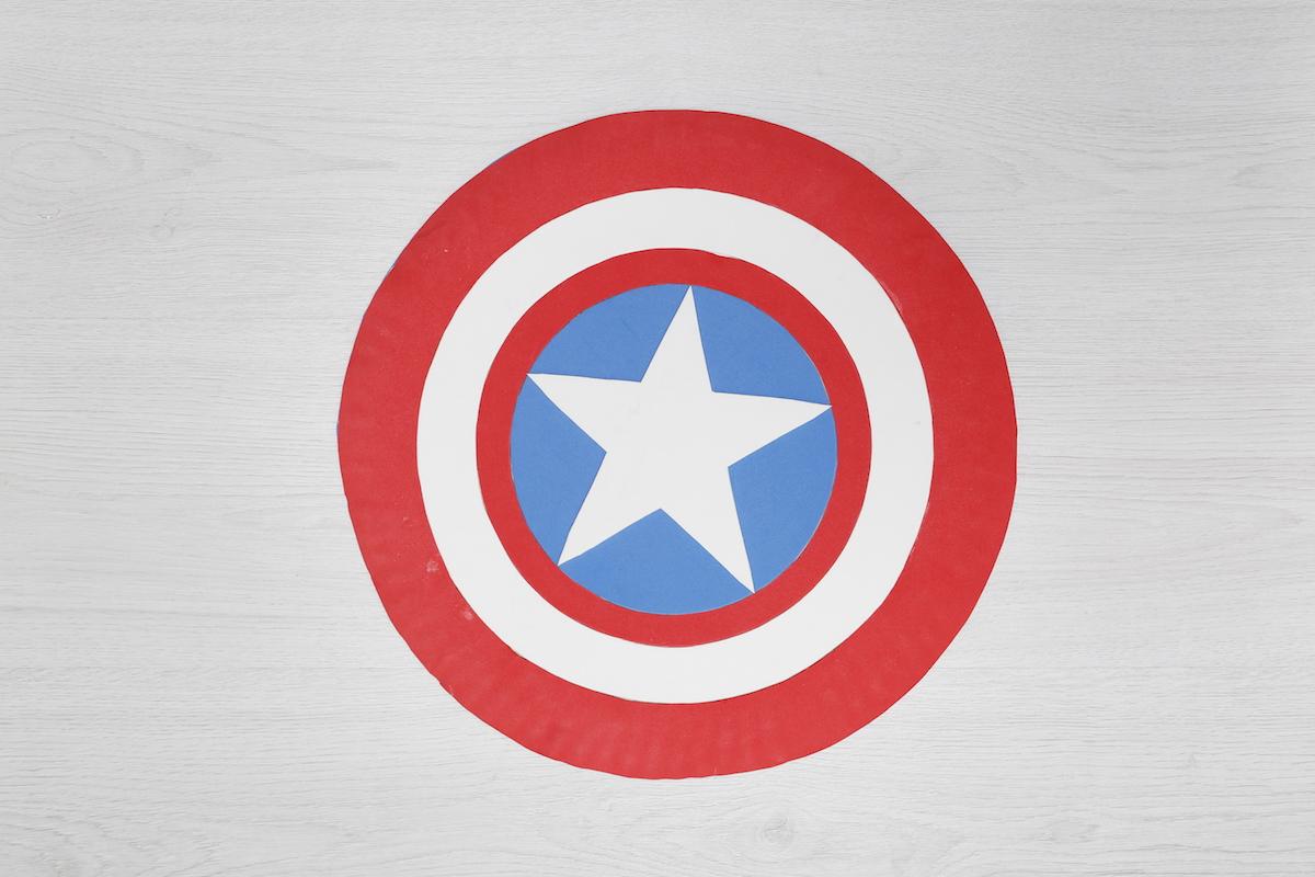 Taller niños haz tu mismo escudo capitan america