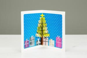 Taller Infantil Tarjeta Navidad 3D