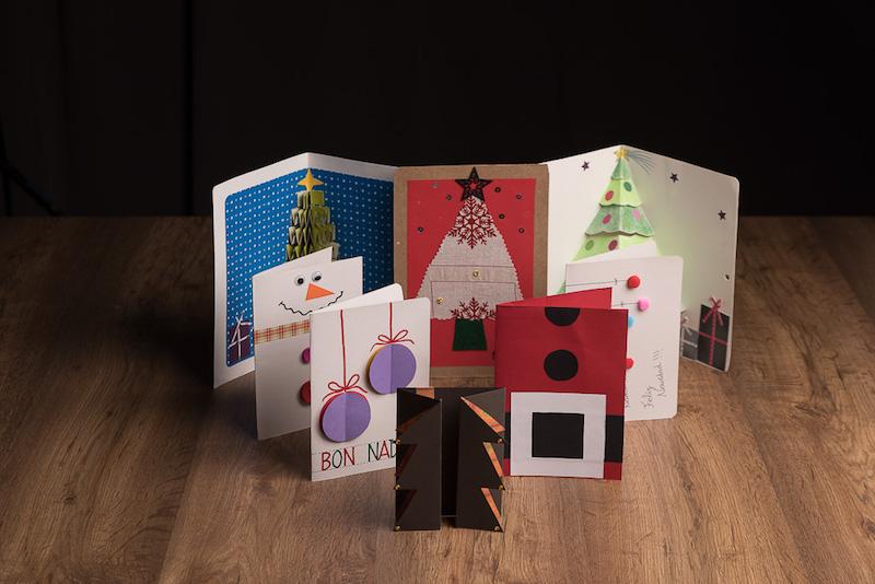Postales de navidad originales para felicitar estas navidades - Targetas de navidad originales ...